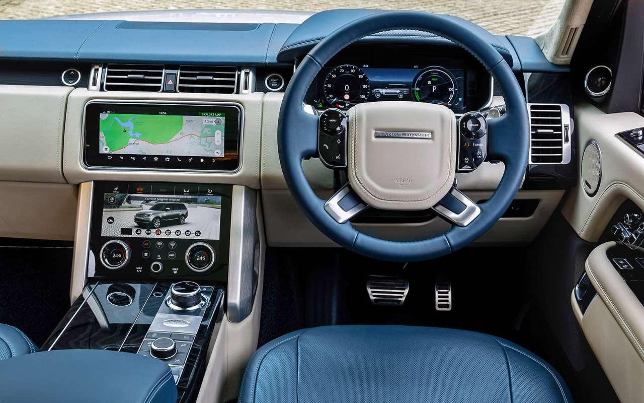 Range Rover PHEV иRange Rover Sport SVR: что общего?— фото 870400
