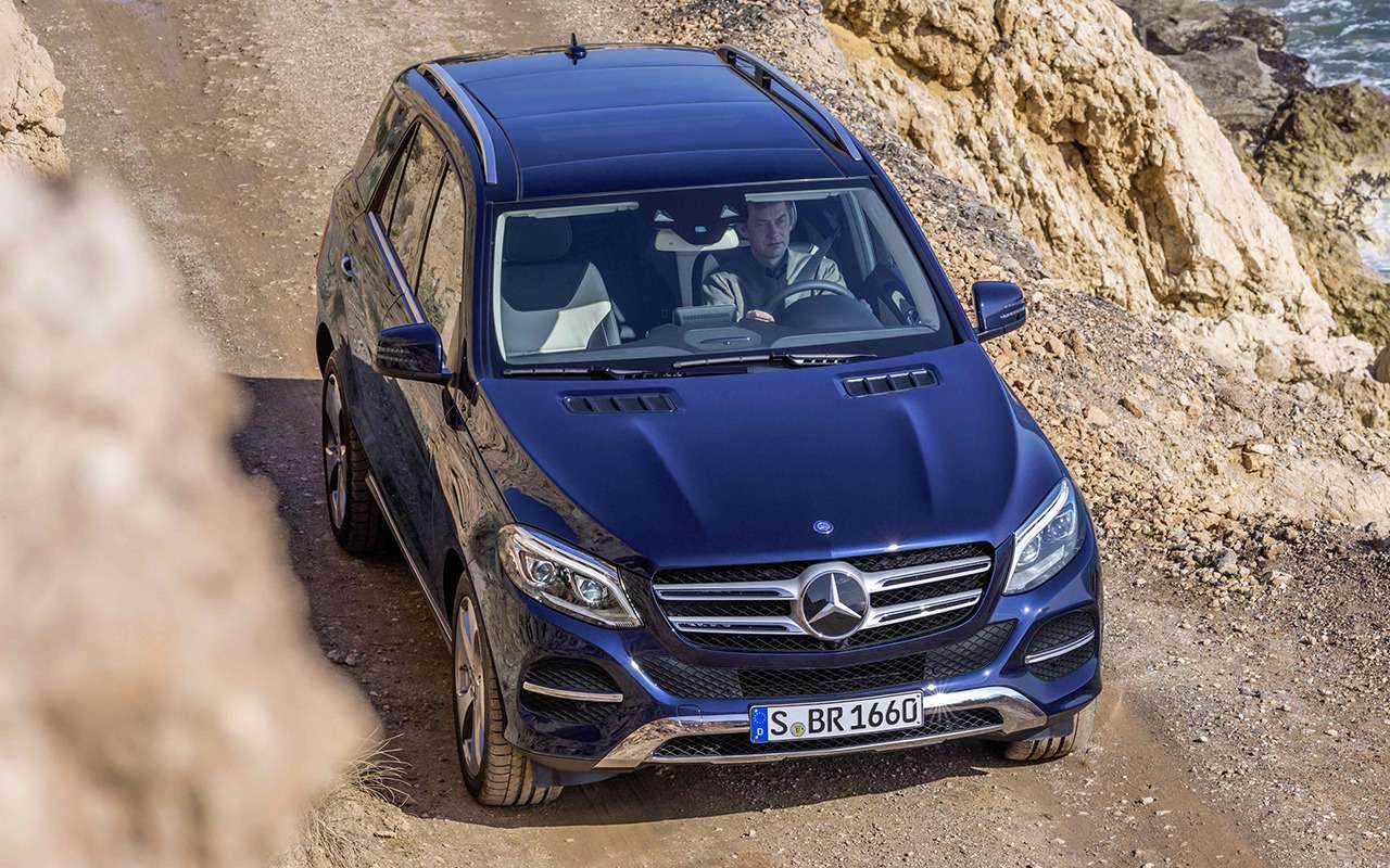 Mercedes-Benz GLE спробегом— все основные болячки— фото 1252113
