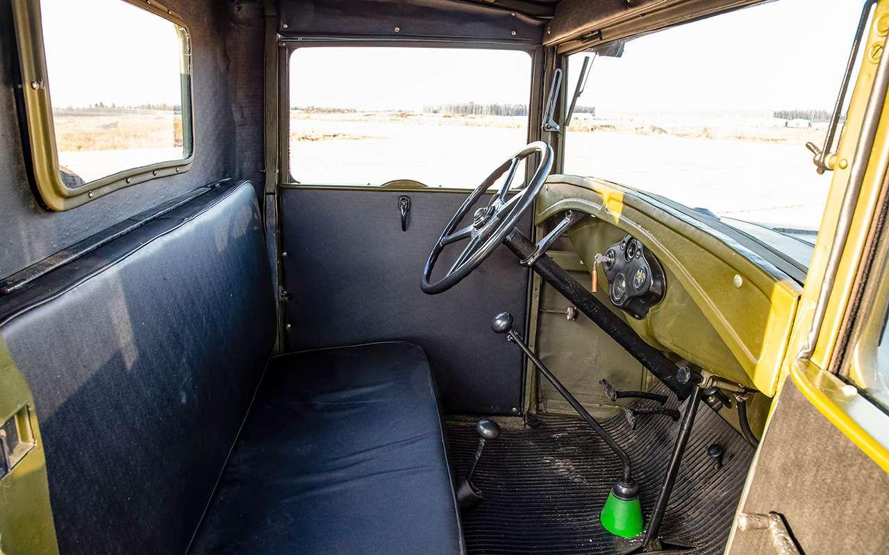 Машины Победы: ретротест настоящих фронтовых грузовиков— фото 1121585