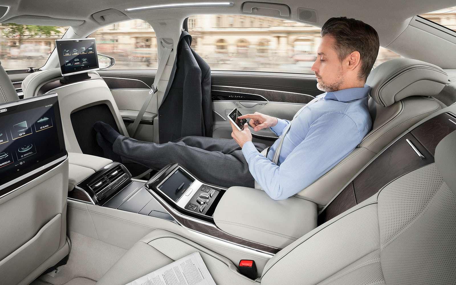 Audi A8четвертого поколения— новичок в«большой тройке»— фото 774431