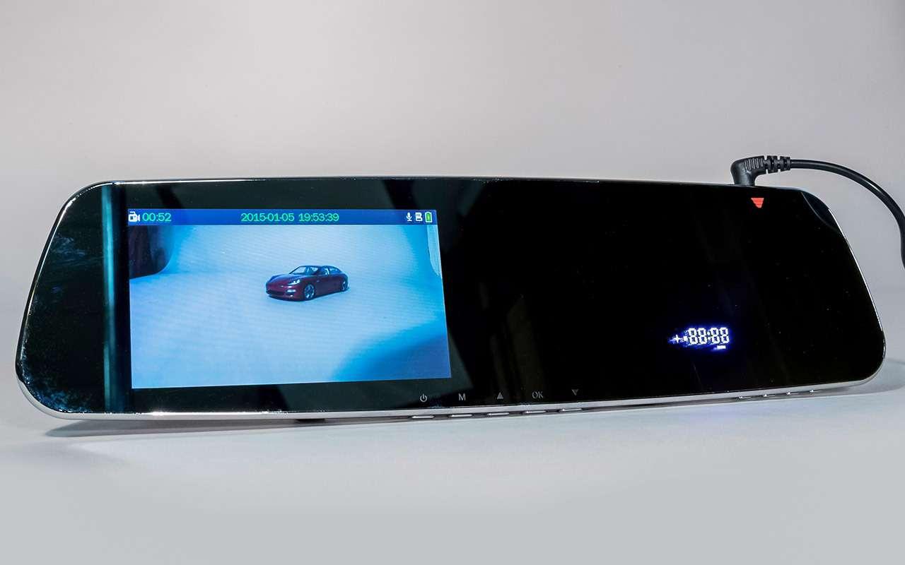 Классический или ввиде зеркала— какой видеорегистратор срадар-детектором лучше— фото 966771