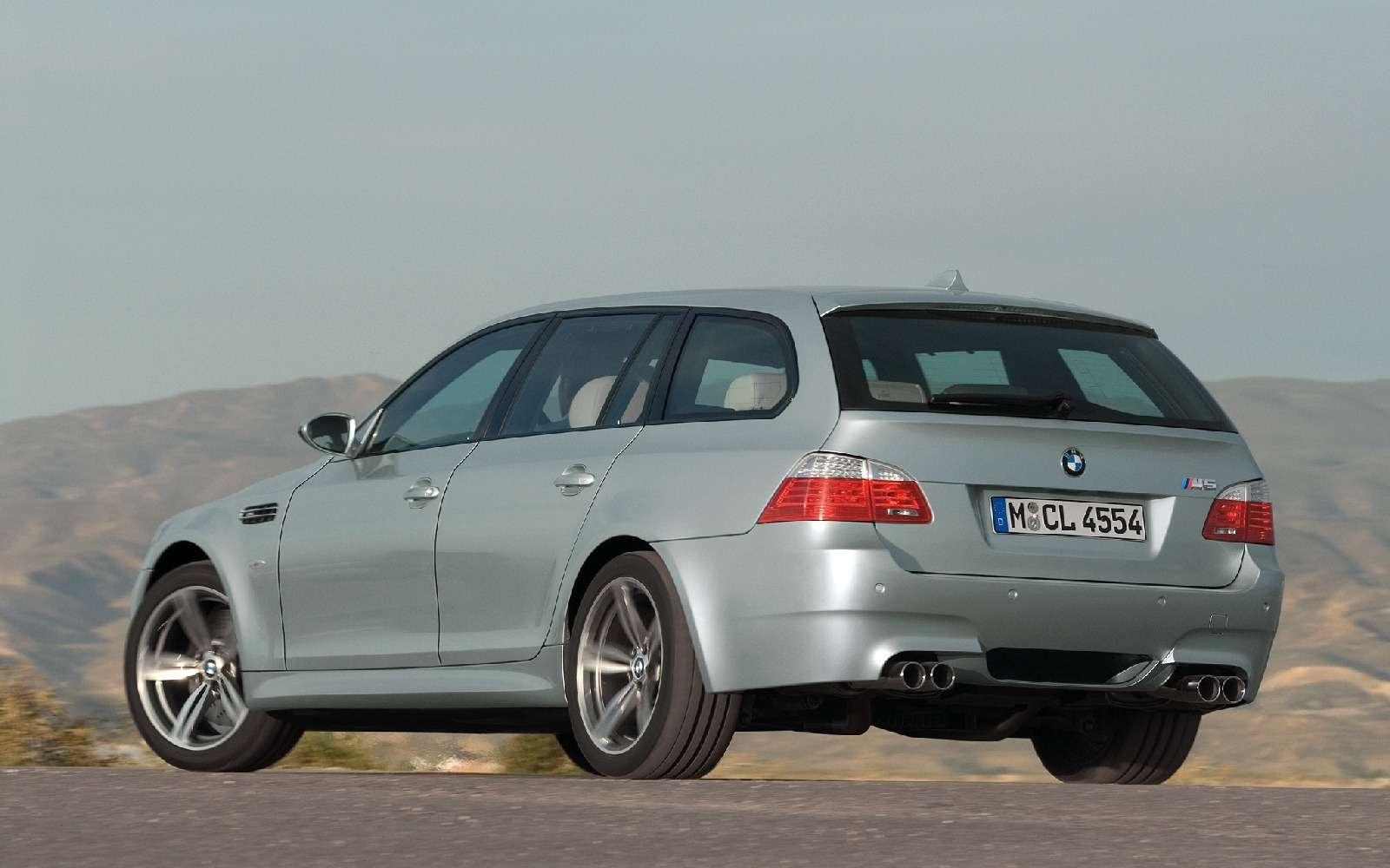 BMWM5не прощается, ноговорит досвидания— фото 611101