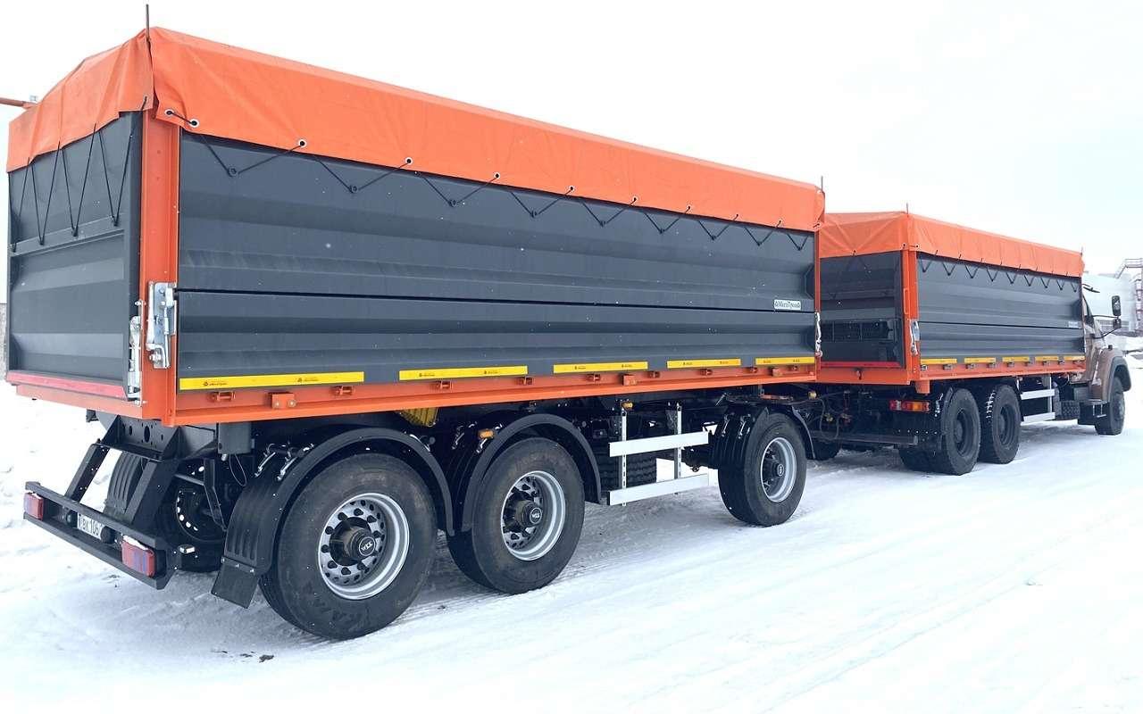 Суперсамосвал: разглядываем новую версию грузовика Урал— фото 1241590