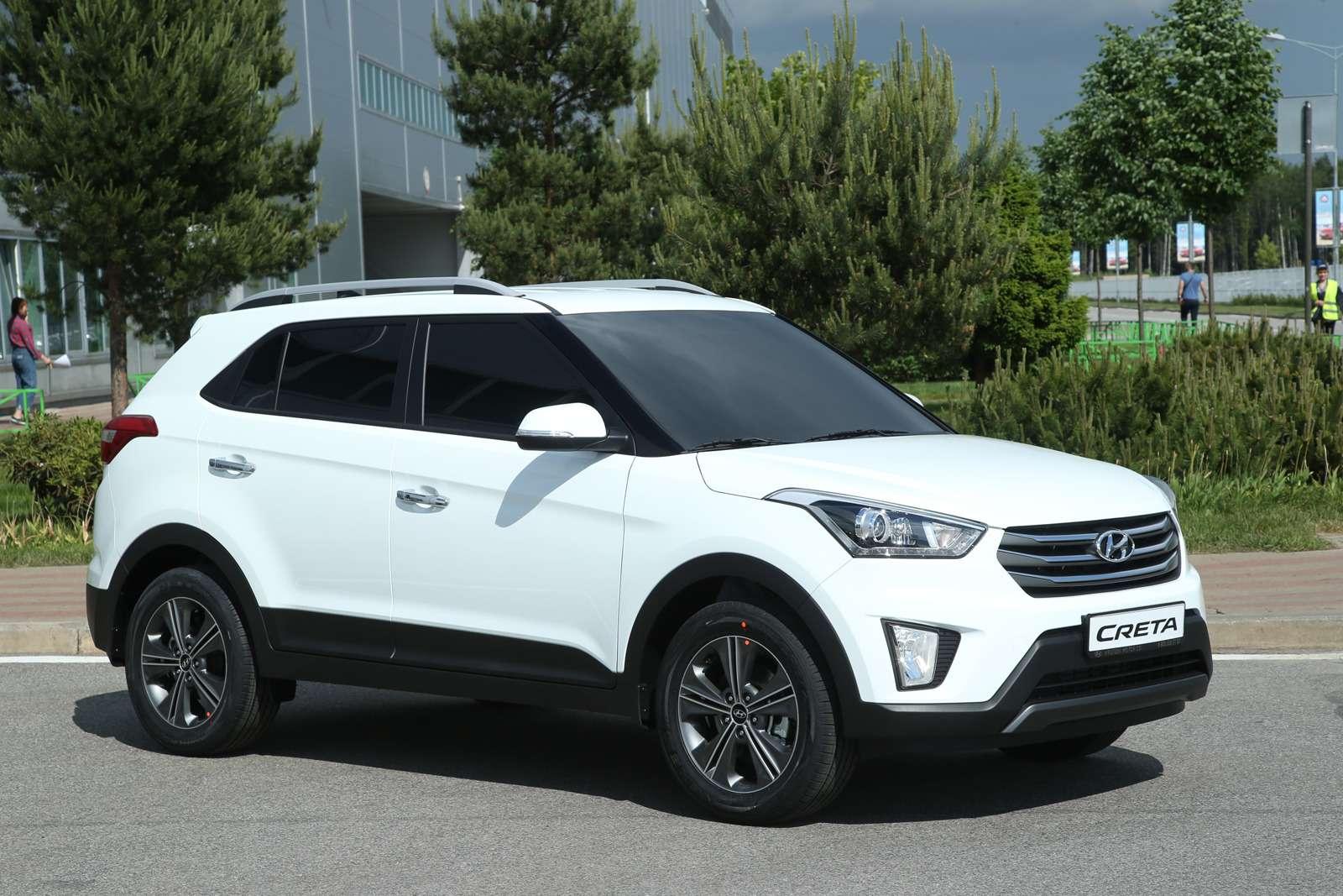 Hyundai рассекретила новый кроссовер Creta питерской сборки— фото 594303